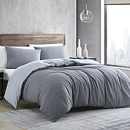 Kenneth Cole New York® Miro Solid Excel Duvet Cover Set