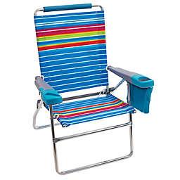Striped Multicolor Beach Chair