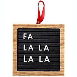 Pearhead® Letterboard Christmas Ornament Set