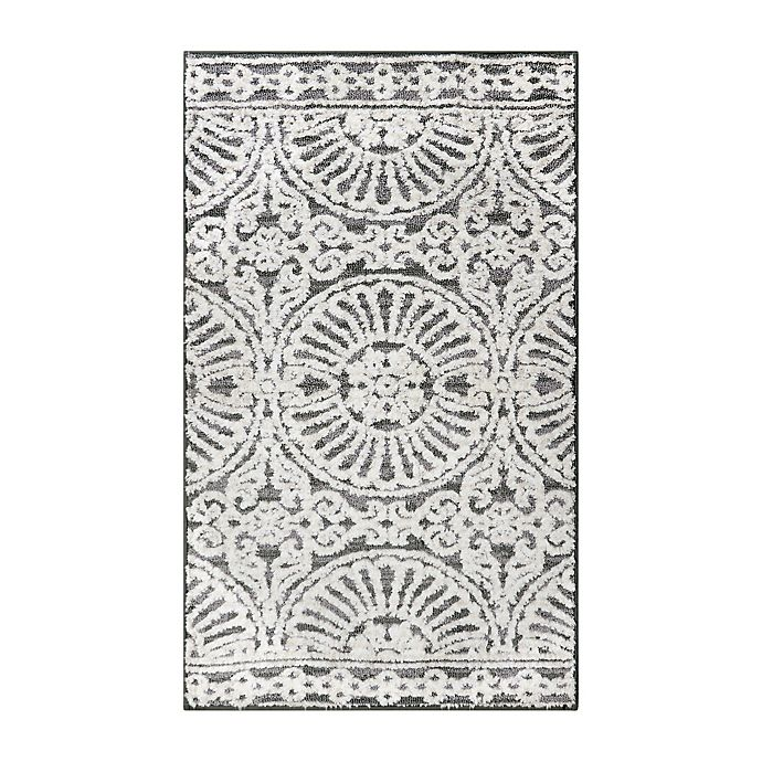 Alternate image 1 for Bee & Willow Ashby Grey Ivory 27x45 Rug