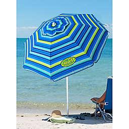 Tommy Bahama® 6-Foot Round Multi Stripe Beach Umbrella