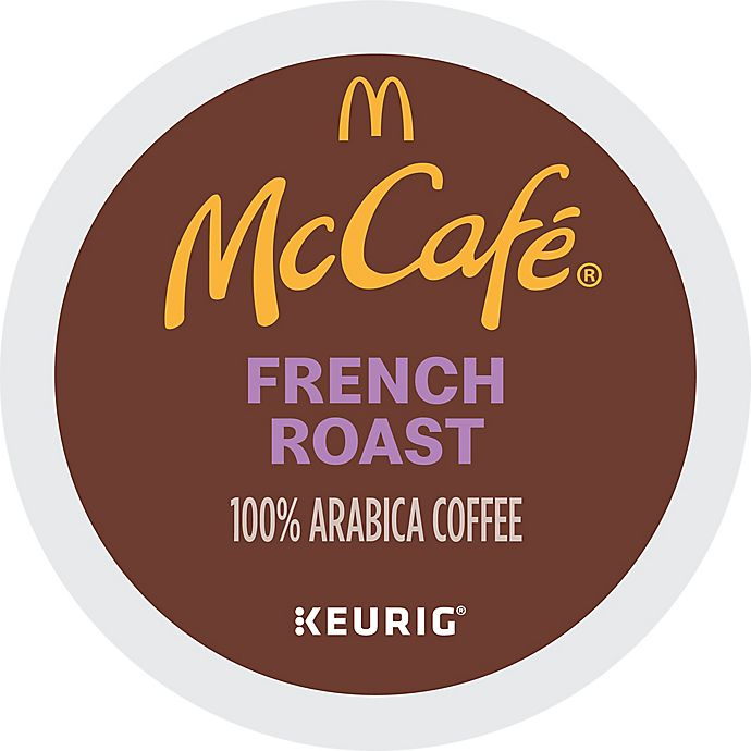 Alternate image 1 for McCafe® French Roast Coffee Pods Keurig® K-Cup® Pods 24-Count