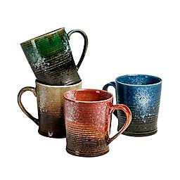 Over and Back® Lockwood Mugs (Set of 4)
