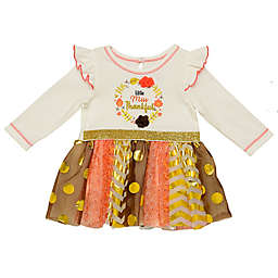 Baby Starters® Miss Thankful Dress in Ivory