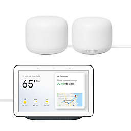 Google Nest Wi-Fi Router, Point, and Hub Bundle