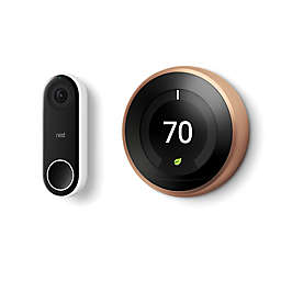 Google Nest Learning Thermostat and Hello Doorbell Bundle