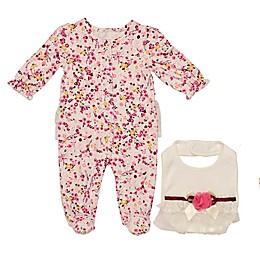 Baby Starters® 2-Piece Moonlit Garden Footie and Bib Set
