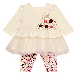 Baby Starters® 2-Piece Floral Tunic Top and Pant Set