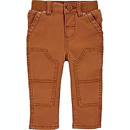 OshKosh B'gosh® Knee Patch Carpenter Pants in Brown