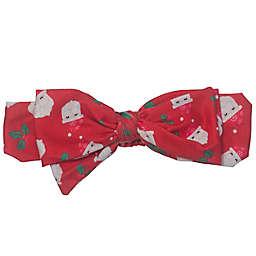 So' Dorable Santa Large Bow Headband