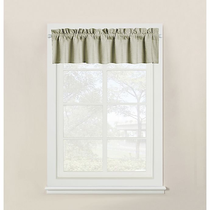 Alternate image 1 for Wamsutta® Hotel Window Valance in Sage