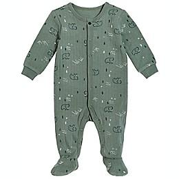 Petit Lem® Mammoth Organic Cotton Footie in Green