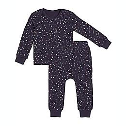 Petit Lem 2-Piece Splatter Thermal Pajama Set