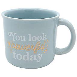 Look Powerful 14 oz. Coffee Mug in Blue