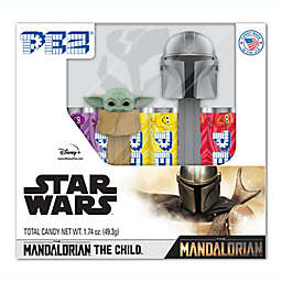 PEZ® Star Wars™ Baby Yoda and The Mandalorian Candy and Dispenser Twin Pack