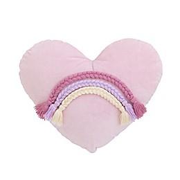 NoJo® Watercolor Rainbow Oblong Throw Pillow
