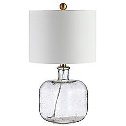 Safavieh Armena Table Lamp in Clear/Brass