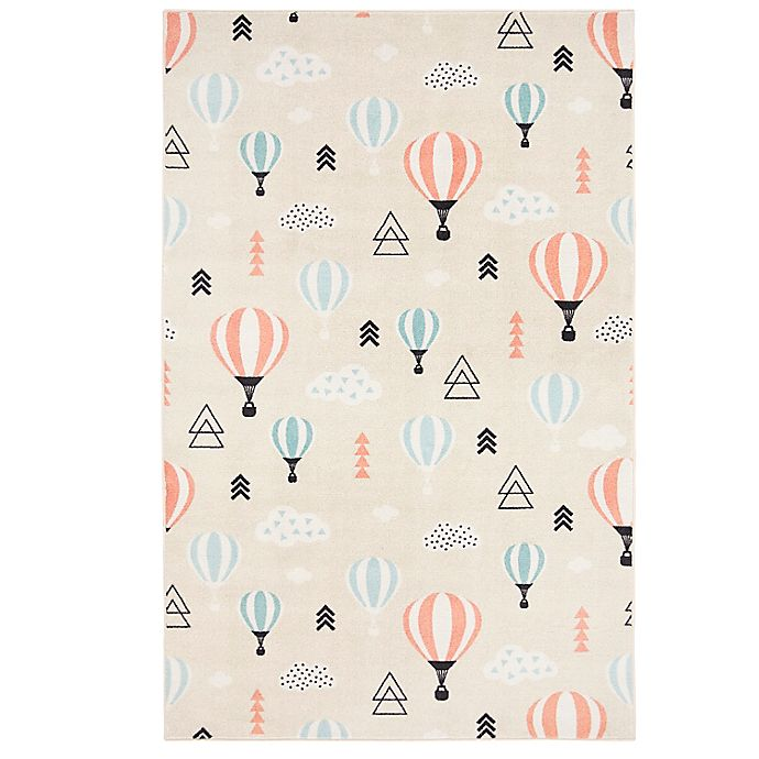 Alternate image 1 for Mohawk Home® Prismatic Balloon Ride 3'4 x 5' Accent Rug in Red