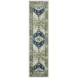 Mohawk Home® Prismatic Apeley 2' x 8' Runner in Navy