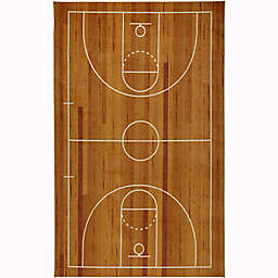 Mohawk Home® Prismatic Basketball Court Rug in Brown