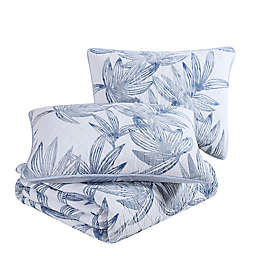 Tommy Bahama® Kayo 3-Piece Reversible Quilt Set in Blue