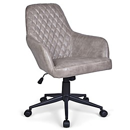 Simpli Home Goodwin Swivel Office Chair