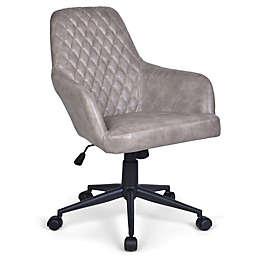 Simpli Home Goodwin Swivel Office Chair