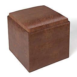 Simpli Home Rockwood Storage Ottoman