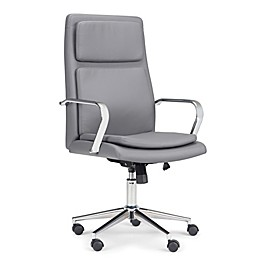Simpli Home Swanson Swivel Office Chair