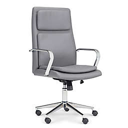 Simpli Home Swanson Swivel Office Chair