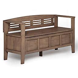 Simpli Home Adams Storage Bench