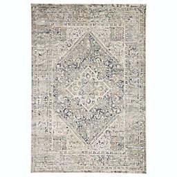 Jaipur Caicos Kiev 5'3 x 7'6 Area Rug in Grey/Ivory