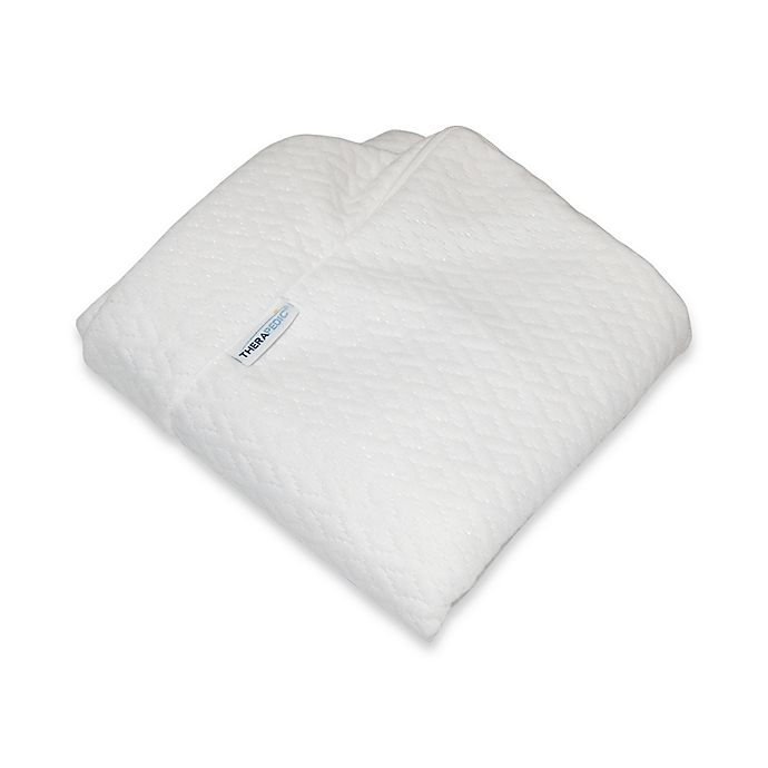 Alternate image 1 for Therapedic® Bed Wedge Pillow Cover in White