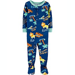 carter's® Safari Snug Fit Footie in Blue