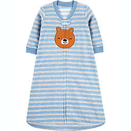carter's® Size 6-9M Bear Fleece Sleep Bag in Blue