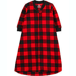 carter's® Size 0-3M Buffalo Check Fleece Sleep Bag in Red/Black