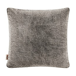UGG® Dawson European Pillow Sham in Chocolate