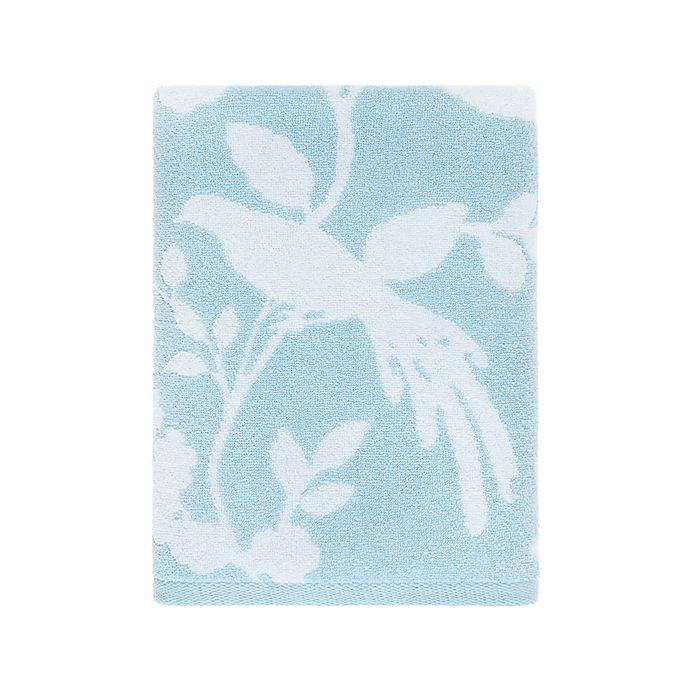 Alternate image 1 for Wamsutta® Margate Bath Towel in Illusion Blue