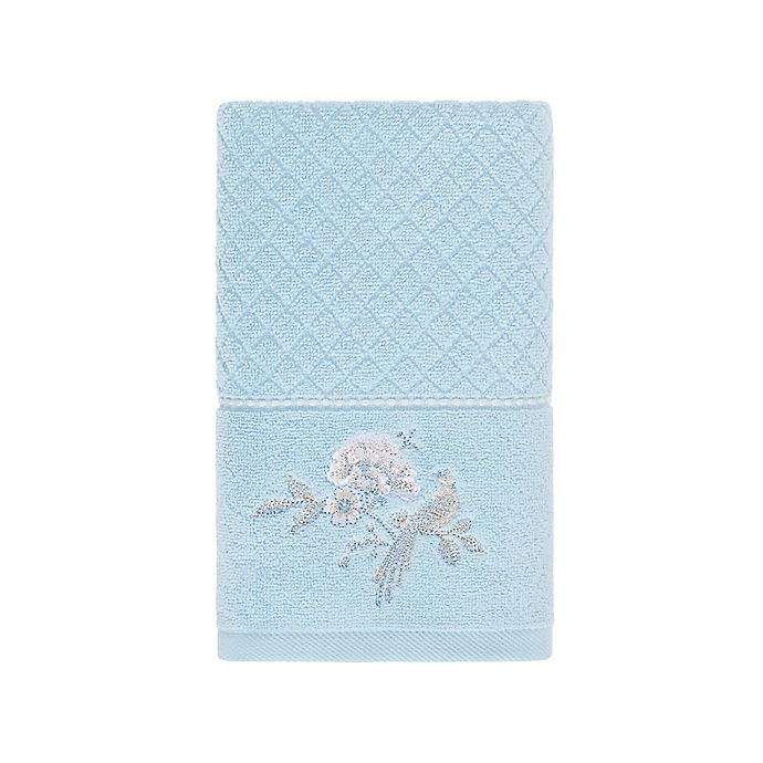 Alternate image 1 for Wamsutta® Margate Hand Towel in Illusion Blue