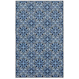 "Mohawk Home® 2' x 3'4"" Prismatic Amstel Accent Rug in Navy"
