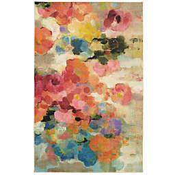Mohawk® Home Prismatic Blurred Blossoms 5' x 8' Multicolor Area Rug