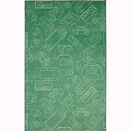 Mohawk® Home Prismatic In Control 5' x 8' Area Rug in Green