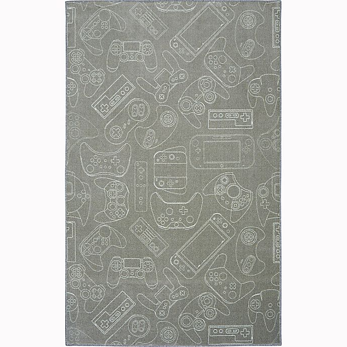 Alternate image 1 for Mohawk® Home Prismatic In Control 3'4 x 5' Area Rug in Grey