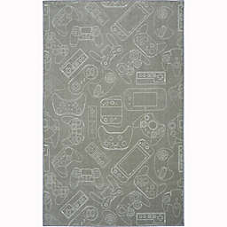 Mohawk® Home Prismatic In Control 3'4 x 5' Area Rug in Grey
