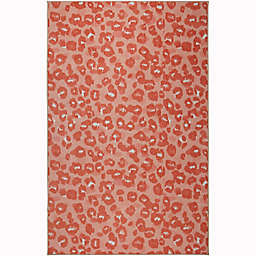 "Mohawk Home® 3'4"" x 5' Prismatic Hip Leopard Area Rug in Pink"