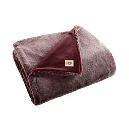 UGG® Dawson Faux Fur Throw Blanket