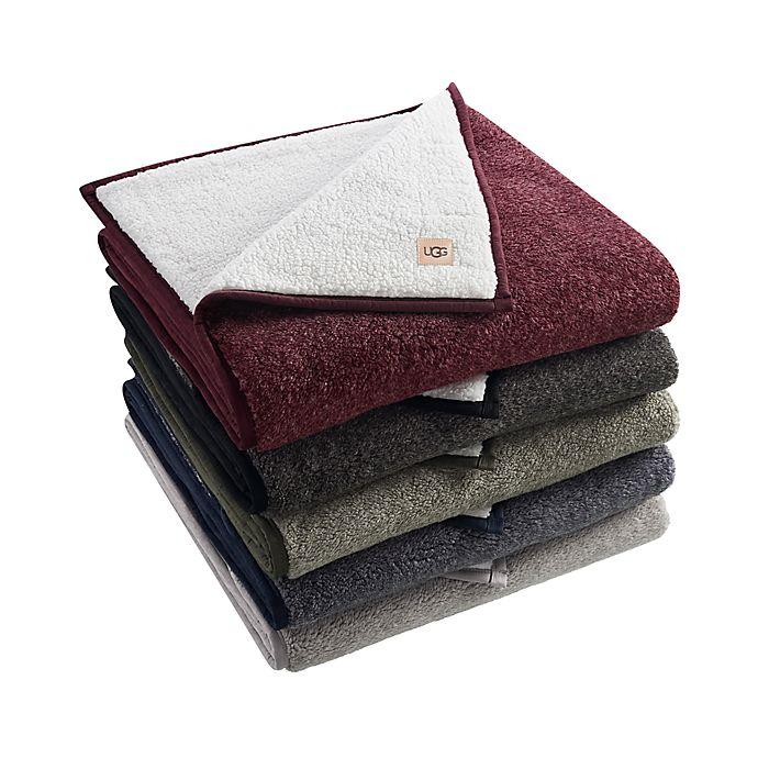 Alternate image 1 for UGG® Melange Classic Sherpa Throw Blanket