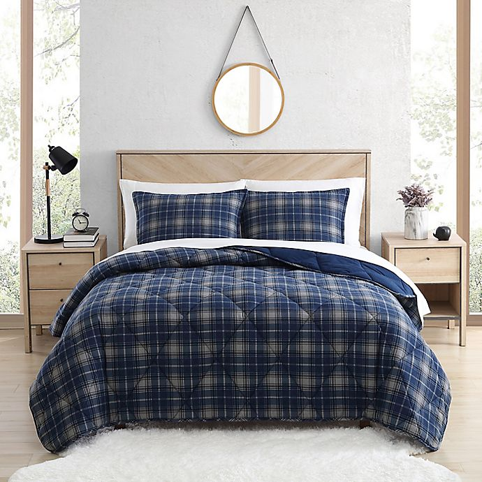 Alternate image 1 for UGG® Juvie 3-Piece Flannel Comforter Set