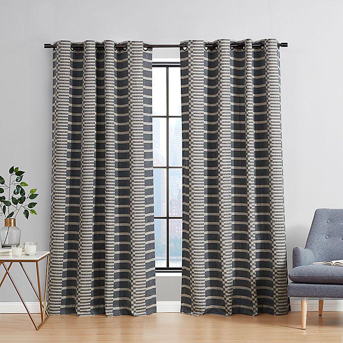 Alternate image 1 for Urban Thread® Ranchester Grommet Room Darkening Window Curtain Panel (Single)