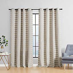 Urban Thread® Ranchester 95-Inch Grommet Room Darkening Curtain Panel in Natural (Single)